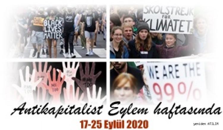 17-25 Eylül 2020 Antikapitalist Eylem haftasında
