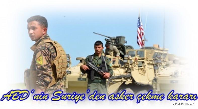 ABD'nin Suriye'den asker çekme kararı
