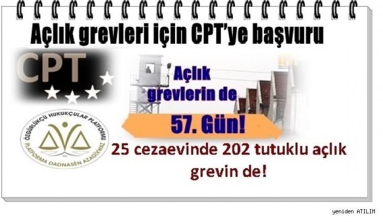Açlık grevin de 57 Gün! - 25 cezaevinde 202 tutuklu açlık grevin de!