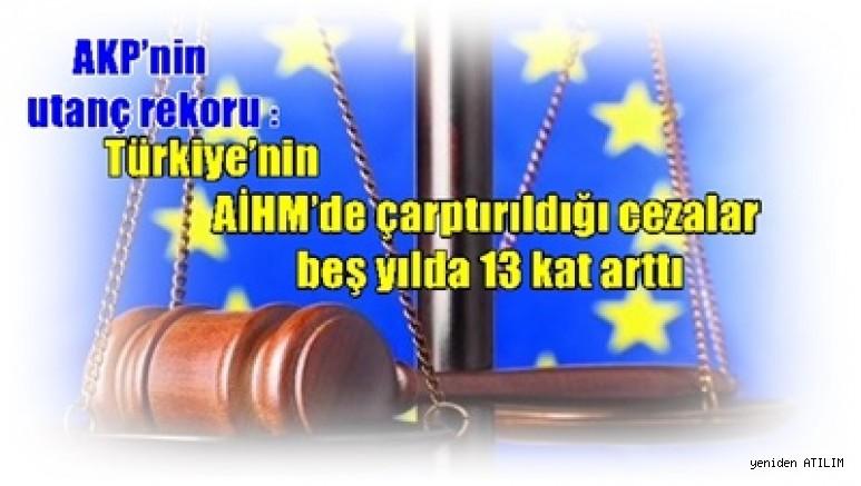 AKP'nin utanç rekoru: Türkiye'nin AİHM'de çarptırıldığı cezalar beş yılda 13 kat arttı