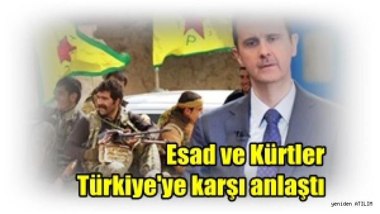 Amerikan haber ajansı AP'In iddiası:  Esad ve Kürtler Türkiye'ye karşı anlaştı