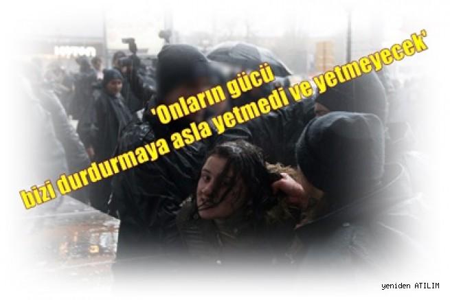 Ankara'da, '8 Mart Dünya Kadınlar Günü' Eylemine Polis Saldırısı, Onlarca Kadın Gözaltında