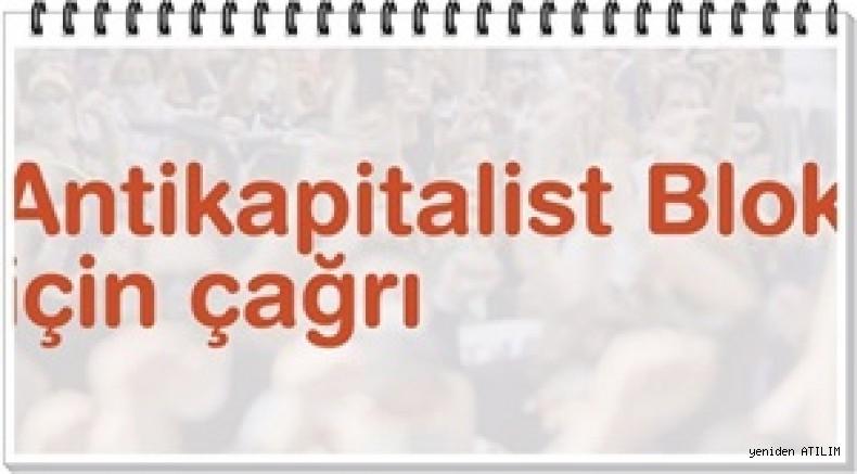 Antikapitalist bir blok için çağrı