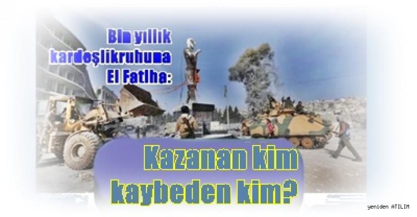 Bin yıllık kardeşlik ruhuna El Fatiha:  Kazanan kim kaybeden kim?