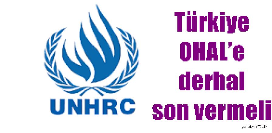 BM: Türkiye OHAL'e derhal son vermeli