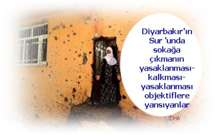 Diyarbakır'ın Sur 'unda sokağa çıkmanın yasaklanması- kalkması-yasaklanması objektiflere yansıyanlar