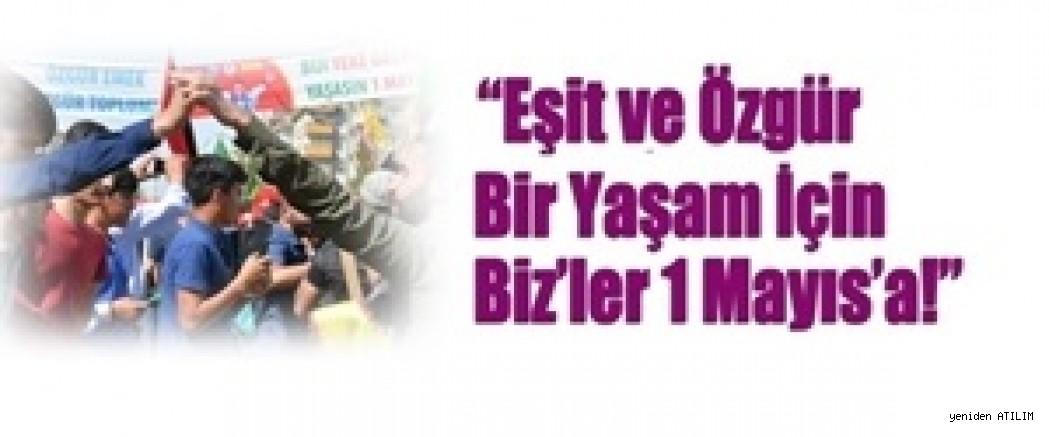 Diyarbakır ve Adıyaman'da 1 Mayıs'a çağrı yapıldı
