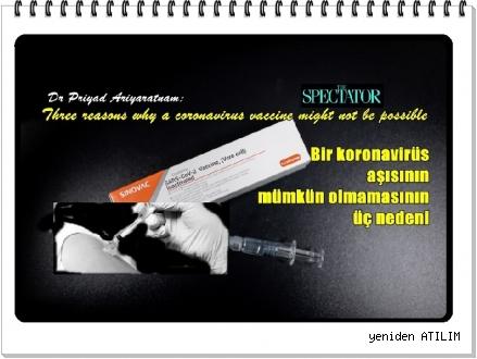 Dr. Priyad Ariyaratnam:   Bir koronavirüs aşısının mümkün olmamasının üç nedeni
