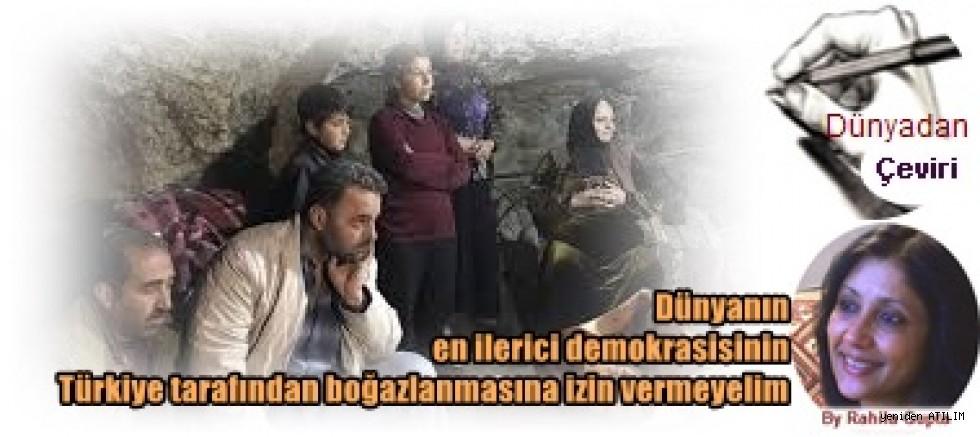 Dünyanın en ilerici demokrasisinin Türkiye tarafından boğazlanmasına izin vermeyelim  Rahila Gupta