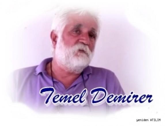 Gazeteci,araştırmacı,yazar Temel Demirer ön savunmalarından