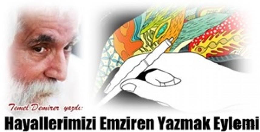 Hayallerimizi Emziren Yazmak Eylemi/Temel Demirer