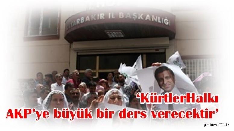 HDP Diyarbakır İl Eşbaşkanı Mehmet Şerif Çamcı:  'KürtlerHalkı AKP'ye büyük bir ders verecektir'