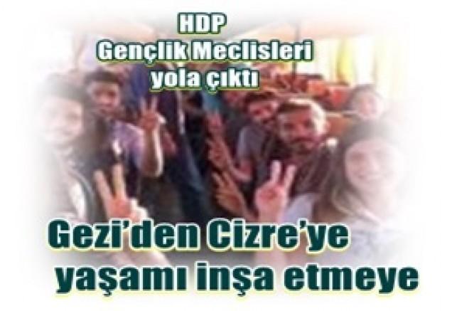 HDP Gençlik:Haydi, Gezi'den Cizre'ye yaşamı inşa etme