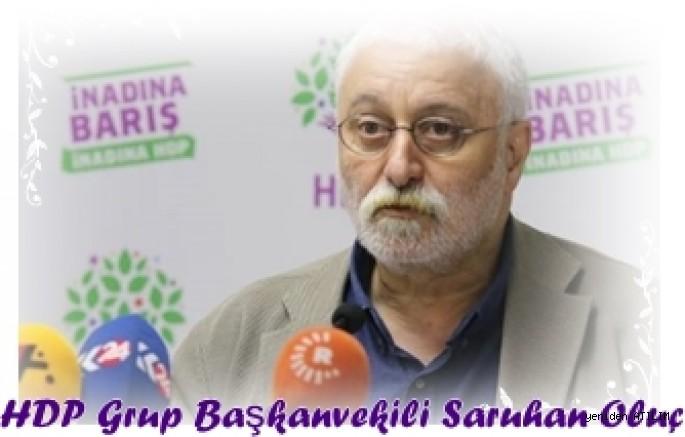 HDP Grup Başkanvekili S. Oluc:  Açlık grevlerinde vahim bir durum yaşanıyor. Gelin hep birlikte çözüm bulalım