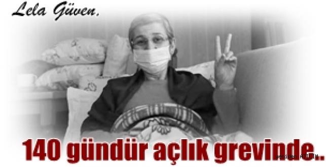 HDP Hakkâri Milletveki Leyla Güven  140 gündür açlık grevinde...