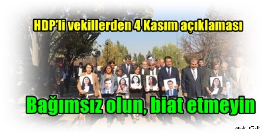 HDP'liler Meclis'te yürüdü