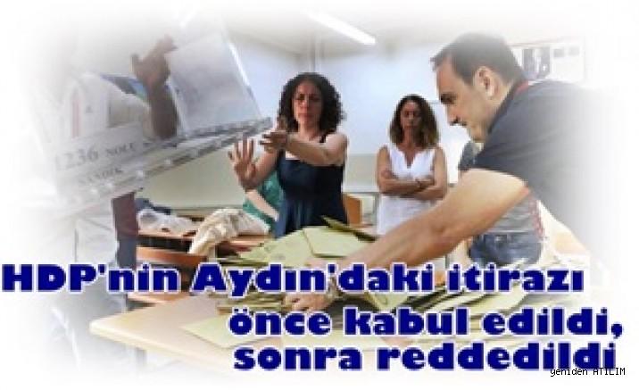 HDP'nin Aydın'daki itirazı önce kabul edildi, sonra reddedildi