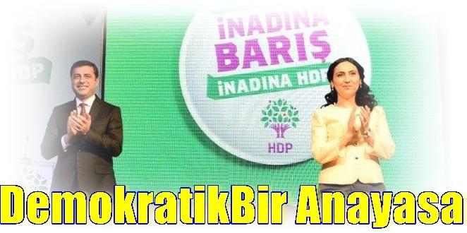 HDP seçim bildirgesini açıkladı.- İnadına HDP, inadına barış!