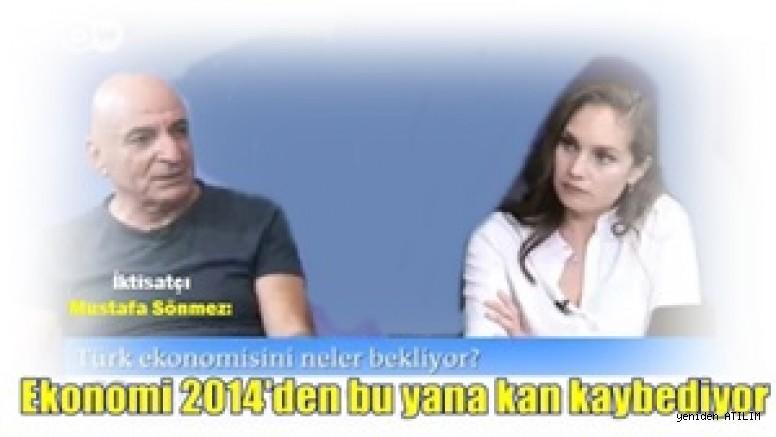 İktisatçı Mustafa Sönmez:  Ekonomi 2014'den bu yana kan kaybediyor