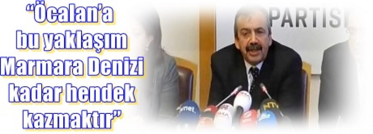 """İmralı Heyetinden, Meclis'te basın açıklaması:""""Öcalan'a bu yaklaşım Marmara Denizi kadar hendek kazmaktır"""""""