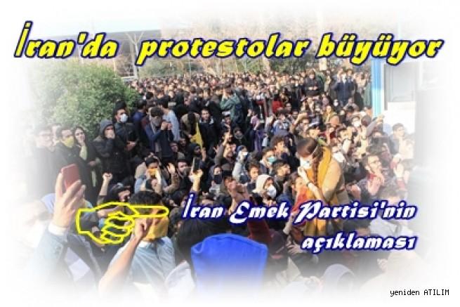 İran'da 5 gün önce başlayan ve tüm ülkeye yayılan protestolar büyüyor