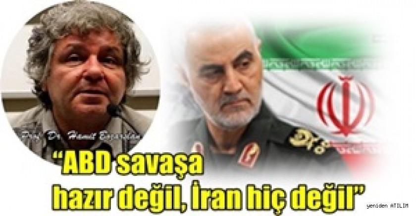 """İrfan Aktan Köşesini   """"ABD savaşa hazır değil, İran hiç değil"""" diyen Hamit Bozarslan'ın Söyleşine Ayırdı"""