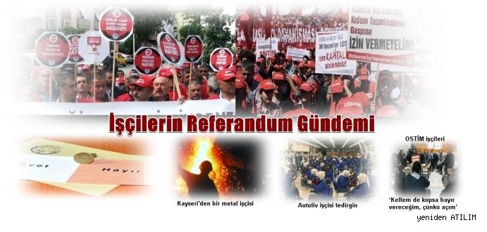 İşçilerin Referandum Gündemi