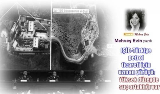 IŞİD-Türkiye petrol ticareti için uzman görüşü:   Yüksek düzeyde suç ortaklığı var -  Mehveş Evin