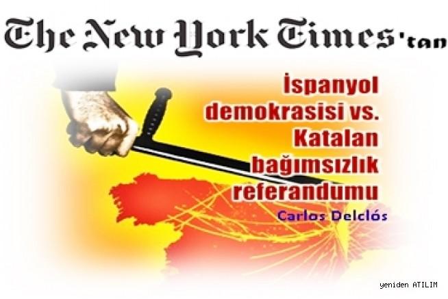 İspanyol demokrasisi vs. Katalan bağımsızlık referandumu - Carlos Delclós