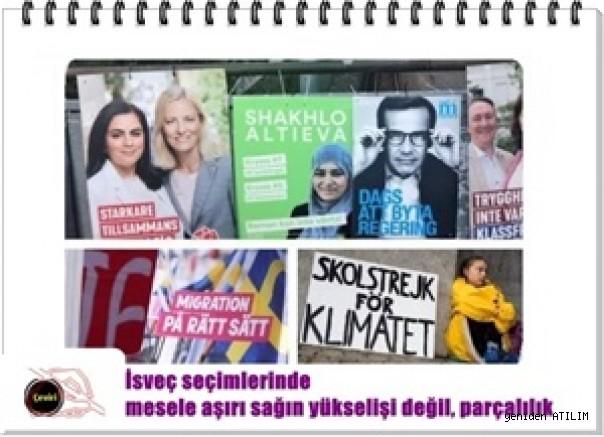 İsveç seçimlerinde mesele aşırı sağın yükselişi değil, parçalılık  Itay Lotem