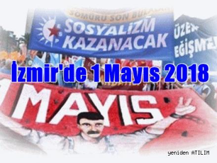 İzmir'de 1 Mayıs 2018