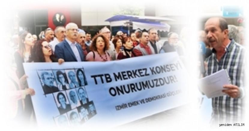'İzmir Emek ve Demokrasi Güçleri': TTB'inin bu onurlu çıkışının yanındadır. Yalnız değillerdir