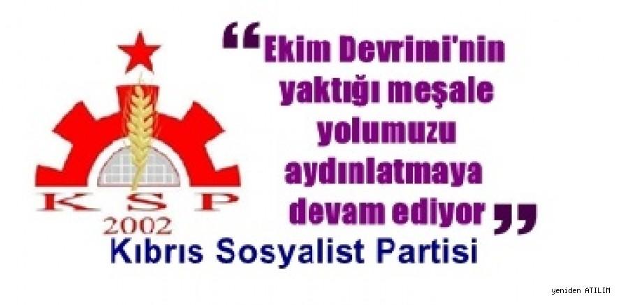 KSP: Ekim Devrimi'nin yaktığı meşale yolumuzu aydınlatmaya devam ediyor