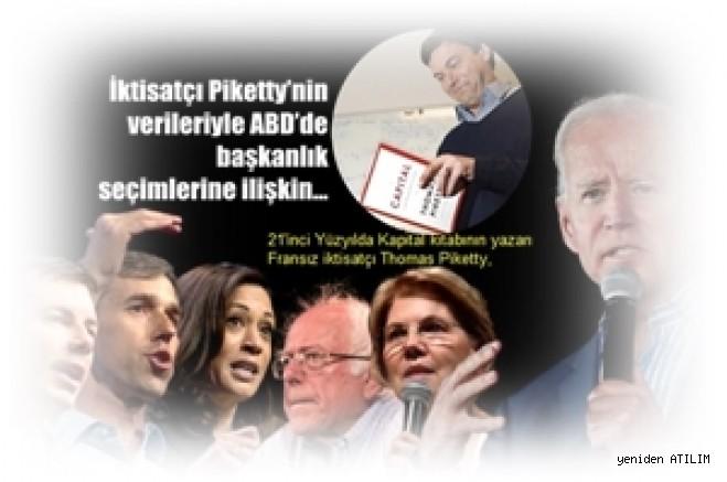 İktisatçı Piketty'nin verileriyle ABD'de başkanlık seçimlerine ilişkin…