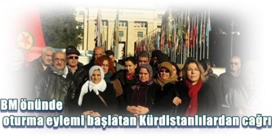 Kürdistanlılar BM önünde:  Katliama müdahale et!