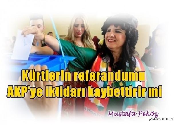 Kürtlerin referandumu AKP'ye iktidarı kaybettirir mi? – Mustafa Peköz