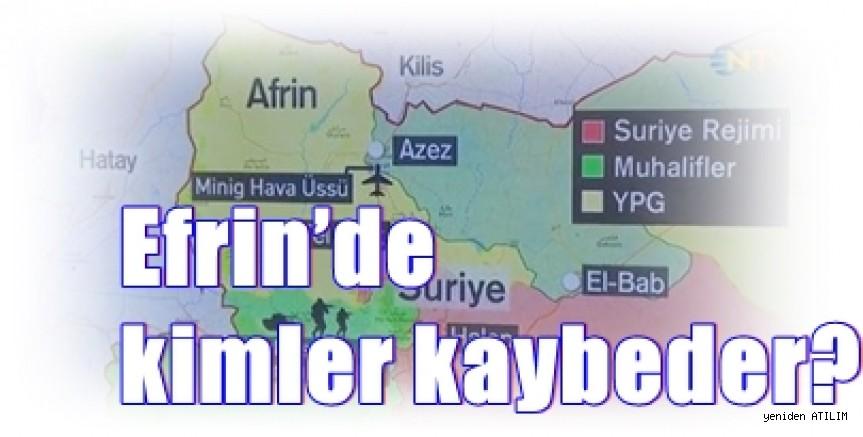 Mezopotamya Ajansi  Editörü: Efrin'de kimler kaybeder?