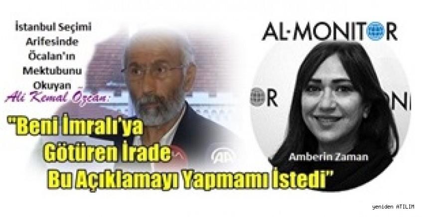 Öcalan'ın Mektubunu Okuyan Ali Kemal Özcan: