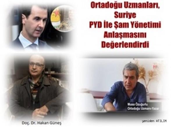 Ortadoğu Uzmanları, Suriye Demokratik Güçleri İle Şam Yönetiminin Anlaşmasını Değerlendirdi