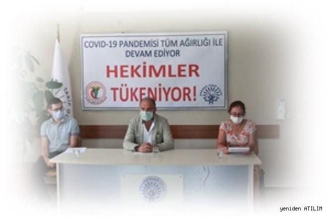 Pandemi Süreci Devam Ederken;  Sağlık Emekçilerinin Enerjisi Ve Sabrı Tükeniyor…