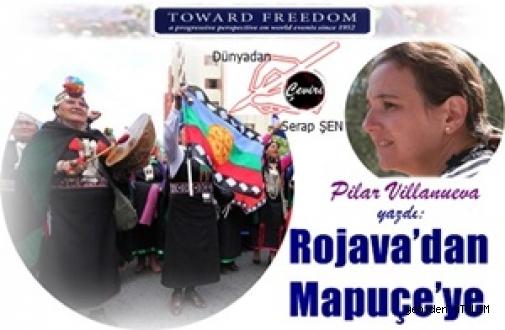 Pilar Villanueva yazdı:Rojava'dan Mapuçe'ye