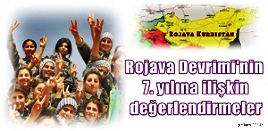 Rojava Devrimi'nin 7. yılına ilişkin değerlendirmeler