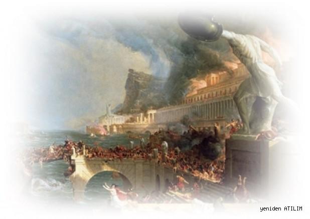Roma'nın çöküşünün ardındaki iklim değişikliği ve hastalıklar/ Kyle Harper