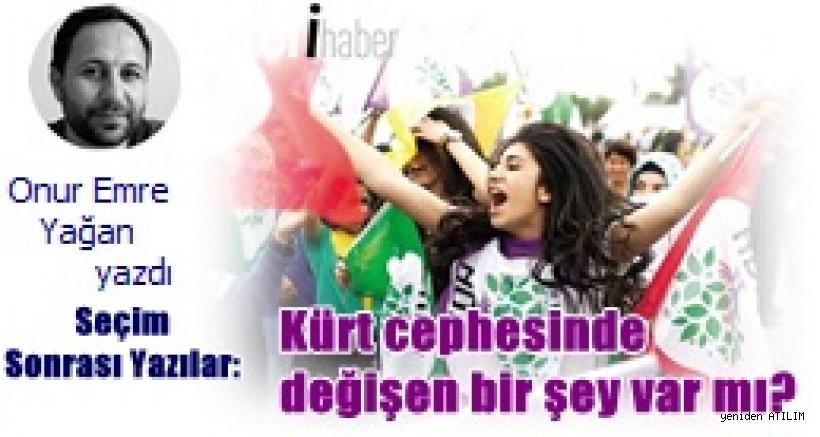 Seçim Sonrası Yazılar:  Kürt cephesinde değişen bir şey var mı?