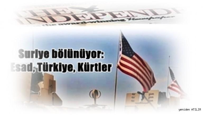 Suriye bölünüyor: Esad, Türkiye, Kürtler
