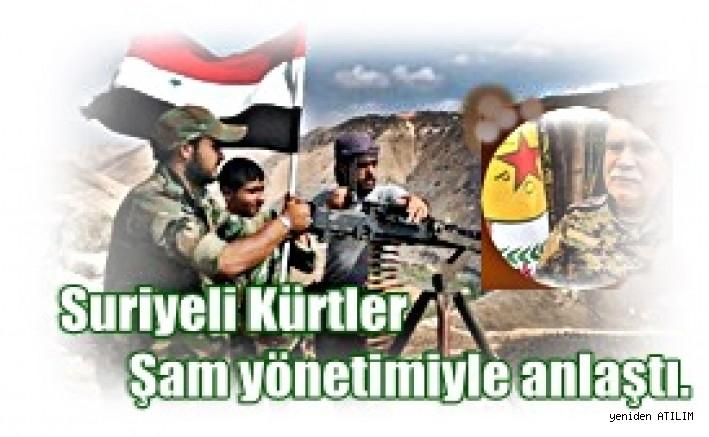 Suriye Demokratik Güçleri İle  Şam yönetimiyle anlaştı