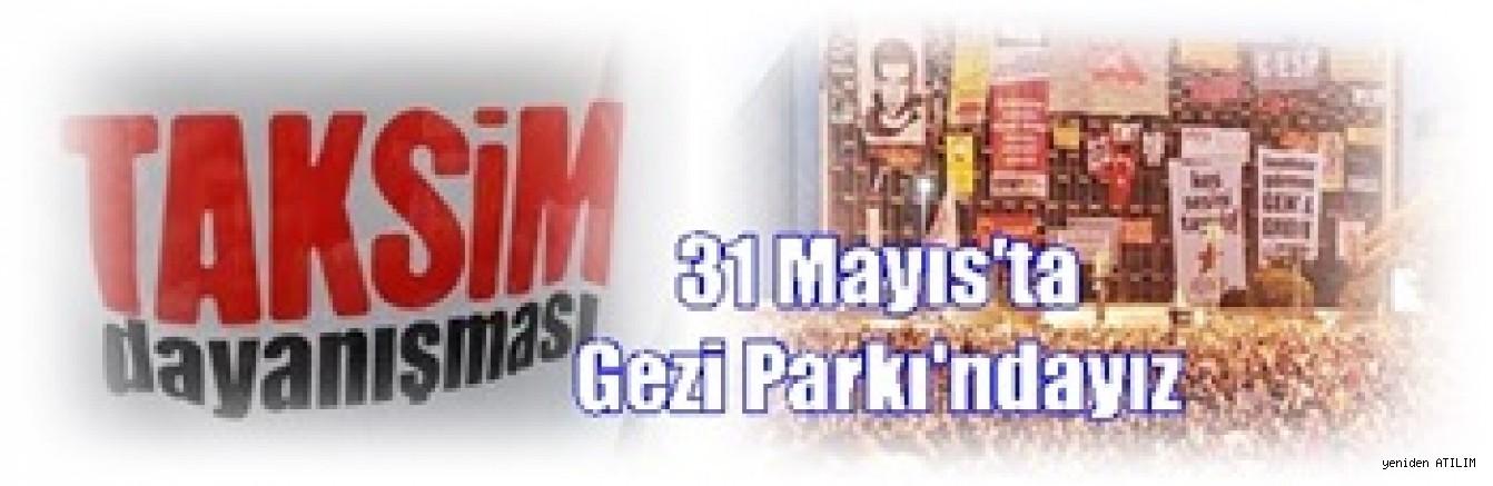 Taksim Dayanışması, Gezi eylemlerinin 5'inci yıldönümünde 31 Mayıs günü Gezi Parkı'nda