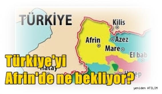 Türk Silahlı Kuvvetleri (TSK)'in Harekatı:   5 soruda Türkiye'yi Afrin'de ne bekliyor?