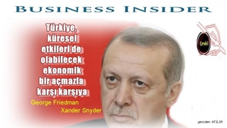 Türkiye, küresel etkileri de olabilecek ekonomik bir açmazla karşı karşıya George Friedman & Xander Snyder