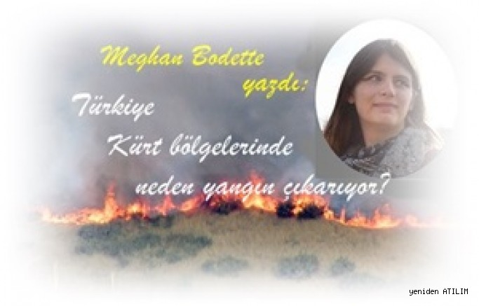 Türkiye Kürt bölgelerinde neden yangın çıkarıyor?/  Meghan Bodette